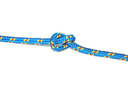tied on a rope knot Stock Photo - 5902374