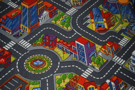 colorful flooring for kids of streets photo