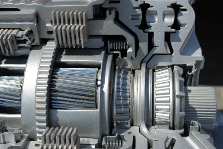 section of the automatic transmission photo