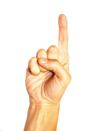 Popular gesture  Stock Photo - 5669233