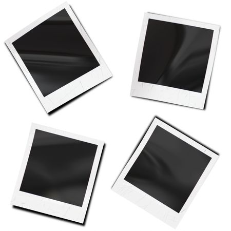 slide show: photo frames Stock Photo