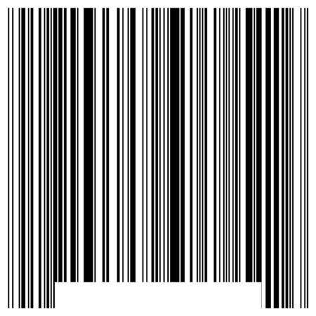 Bar code imitation Stock Photo