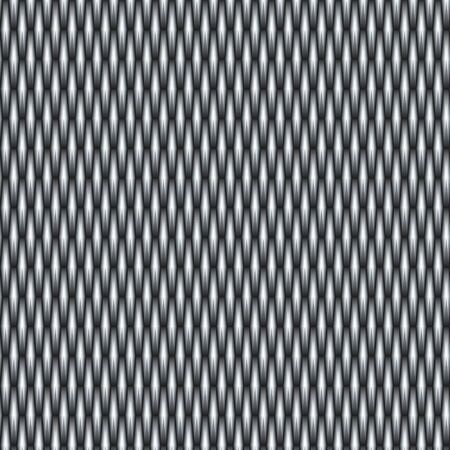 Grey metal grid photo