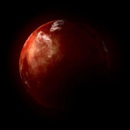 Red planet Stock Photo - 6114310