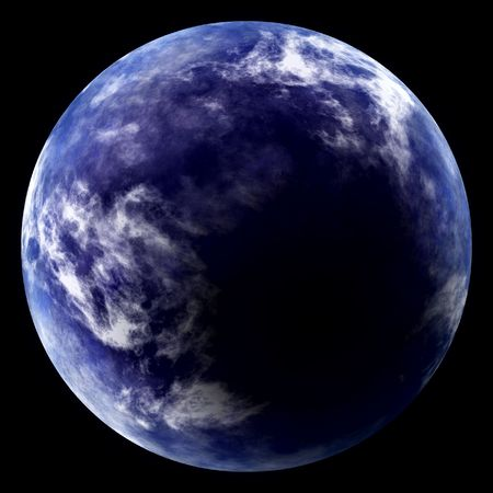 Blue planet Stock Photo - 6173008