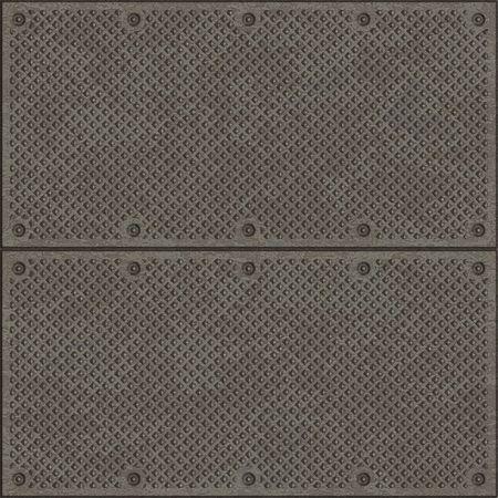 rejas de hierro: estructura met�lica de malla  Foto de archivo
