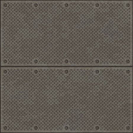 floor covering: mesh metal structure