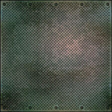 metal mesh: Metal surface