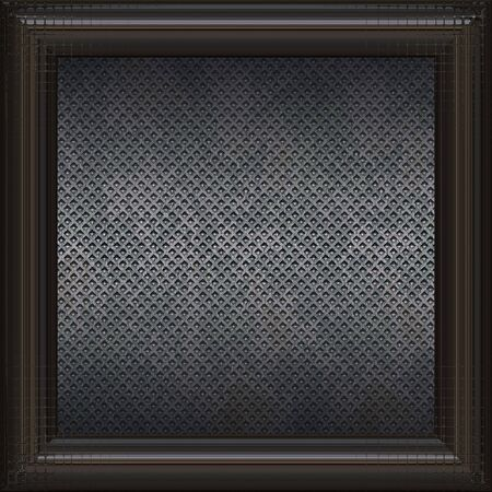 black metal surface  Stock Photo - 6144659