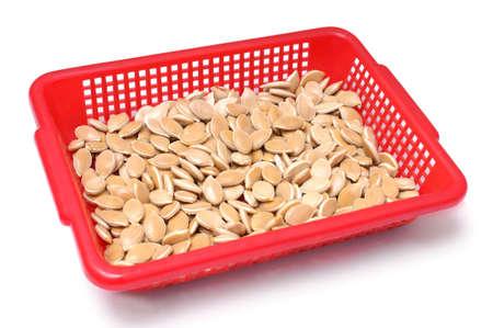 Photo of pumpkin  seeds close up photo
