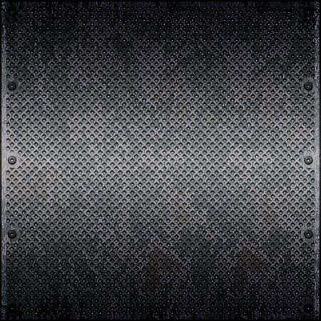 Dirty cellular metal surface close up Stock Photo - 6242849