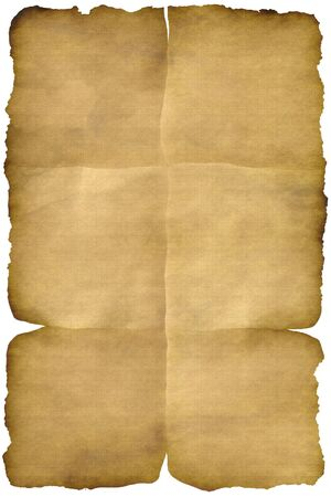 burned: Old paper