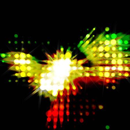 streaks: streaks of light