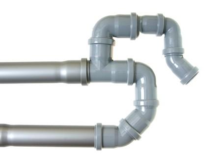 Abwasserkanal-Leitungen
