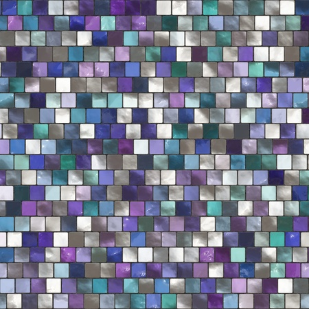 The image of a blue ceramic tile close up Stock Photo - 8768247