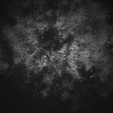 Abstract black background with a mystical luminescence