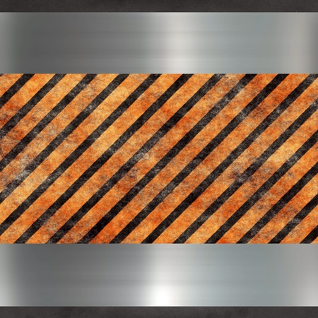 image of a steel relief metal plate Stock Photo - 8768302