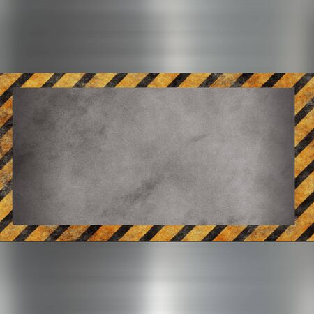 image of a steel relief metal plate  Stock Photo - 8768293