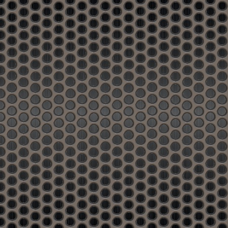 metal surface with holes on a white background Stock Photo - 8768294