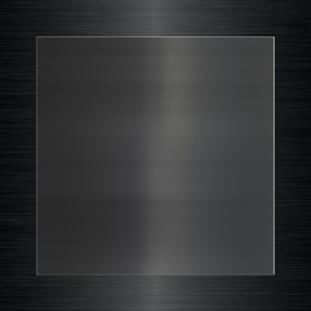 black metallic background: metal surface