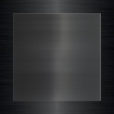 dauerhaft: Metalloberfl�che