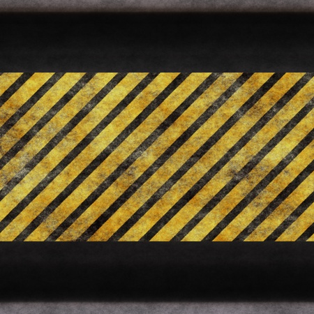 Black yellow protective surface photo