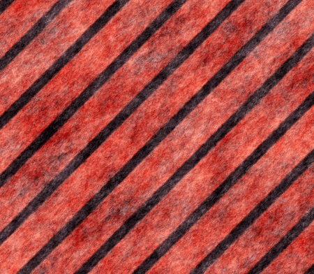 Black red protective surface close up . photo
