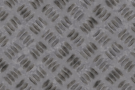 clean metal diamond plate , seamlessly tillable Stock Photo - 9280842