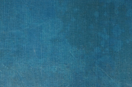 Background from a natural old blue fabric photo