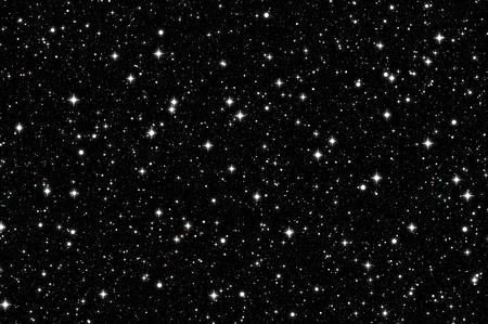 noche estrellada: cielo nocturno   Foto de archivo