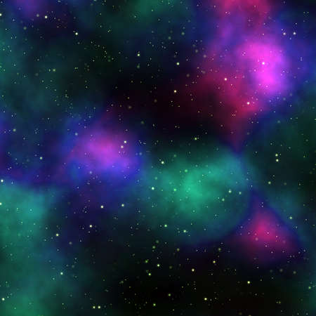 night sky, abstract cosmic background photo