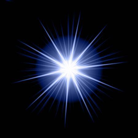 erupt: blue star