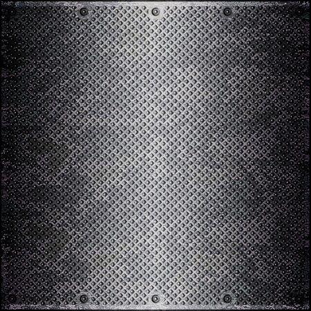 industriale: superficie metallica Archivio Fotografico