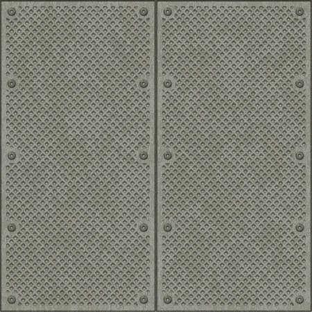 treadplate: metal surface
