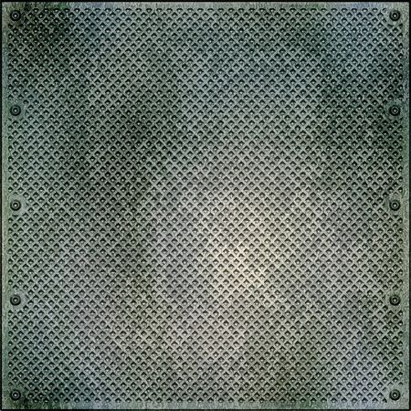 corrugated metal: metal surface