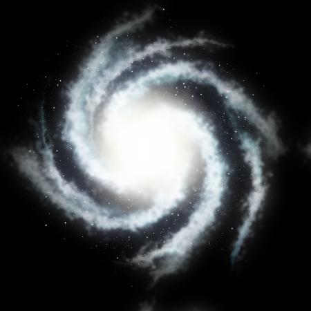 astronomie: Geheimnisvolle helicoide Galaxy und die schwarzen Sternhimmel Lizenzfreie Bilder