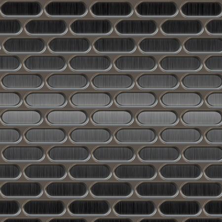 malla metalica: Textura de metal con agujeros