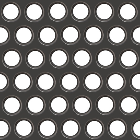 Metal texture with holes  Stock Photo