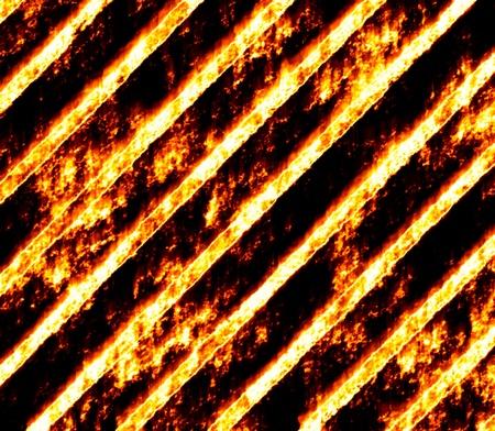 fire engine: fiery drawing