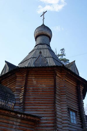 Orthodox wooden church