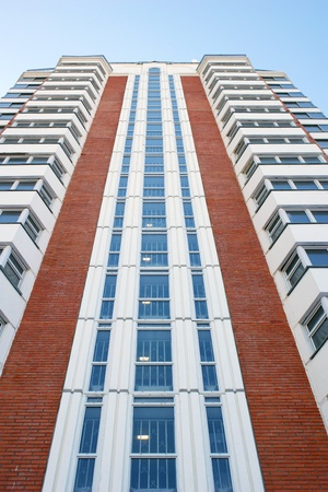 european community: Facade of a new many storeyed apartment house Editorial