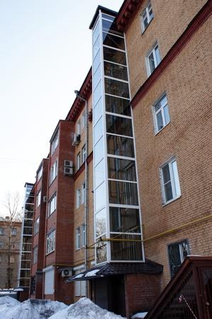 Facade of a new apartment house Stock Photo - 10484156