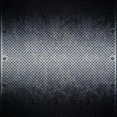 metallschrott: Dunkle Metallplatte