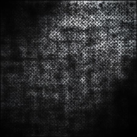 tornillos: Placa de metal oscuro