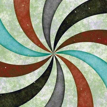 La imagen abstracta de la dispersión de rayos Foto de archivo