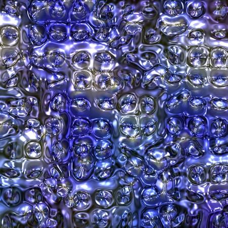 pink bubbles: The color background simulating spread liquid plastic