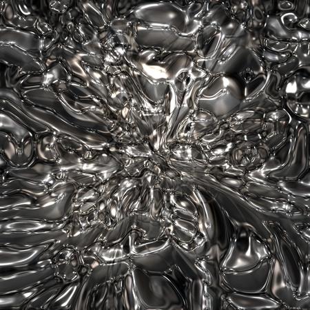liquid chrome photo