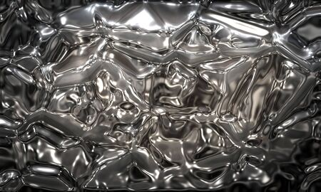liquid chrome photo