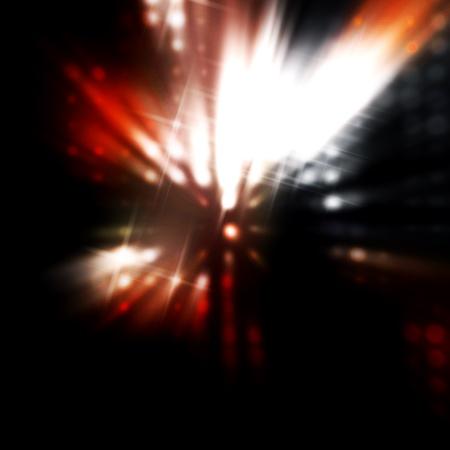 light source: circular reflections Stock Photo