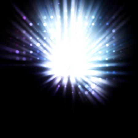 sfondo luci: circolare riflessioni